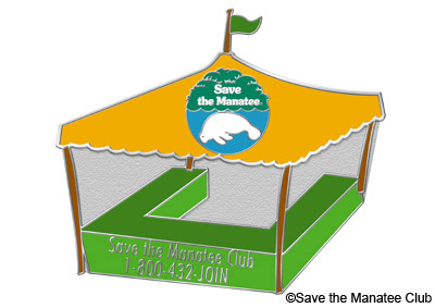 Save the Manatee Club Tabling Pin